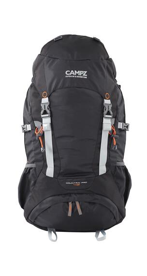CAMPZ Mountain Pro Rucksack 42L schwarz